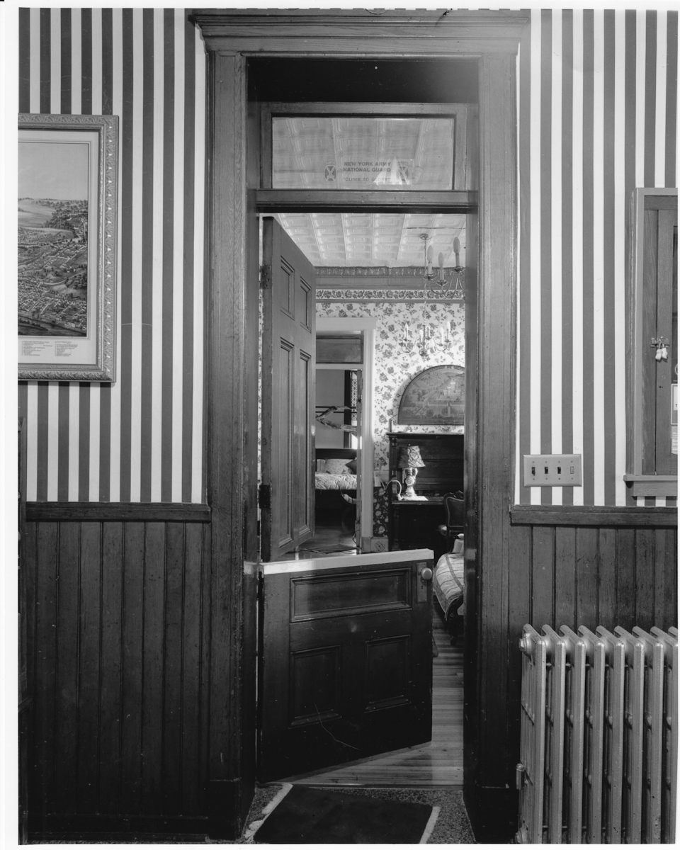 Flight Bathroom Door: Upstate Castle Amsterdam, NY For Sale Listing By Mike